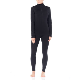 Icebreaker W's 260 Tech LS Half Zip Shirt Black